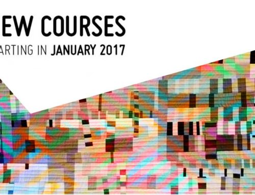 NEW COURSES starting in January !