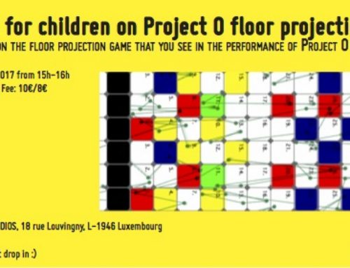 Floor Projection game workshop for children