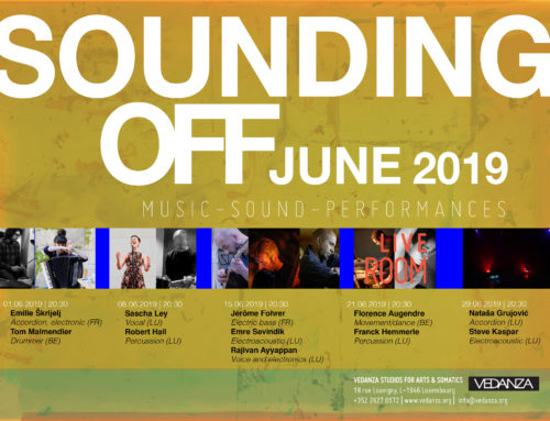 SOUNDING OFF – music performances in June 2019