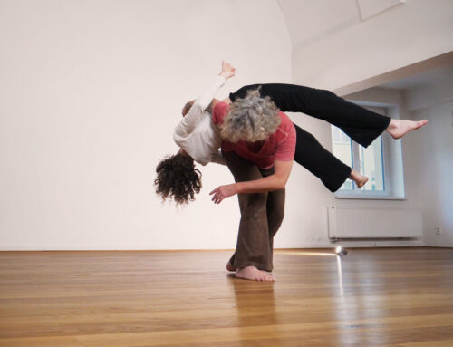 Contact Improvisation workshop with Karl Frost on 24 Oct 2020